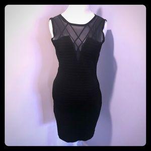 Bebe black dress size Large